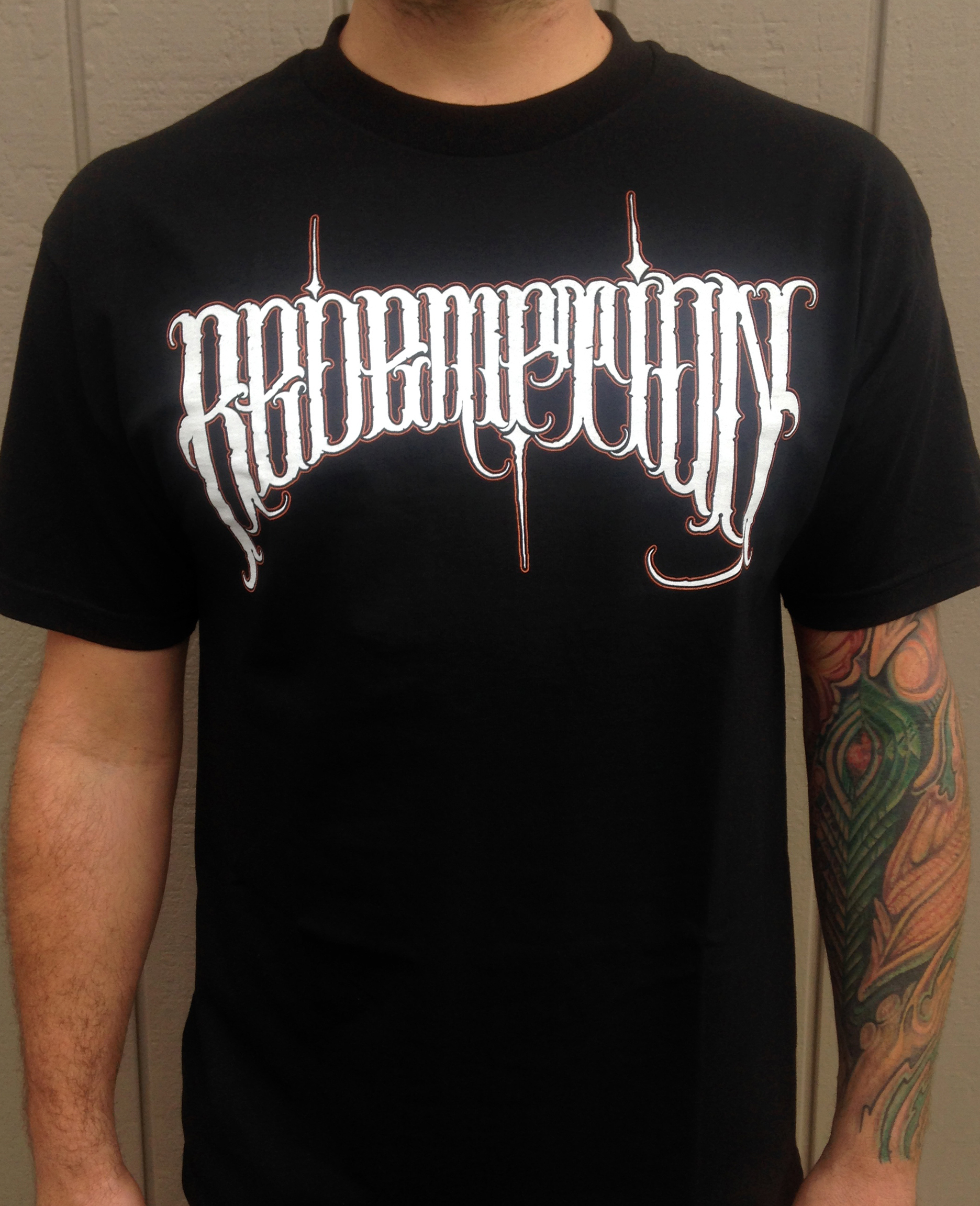 Redemption shirt front