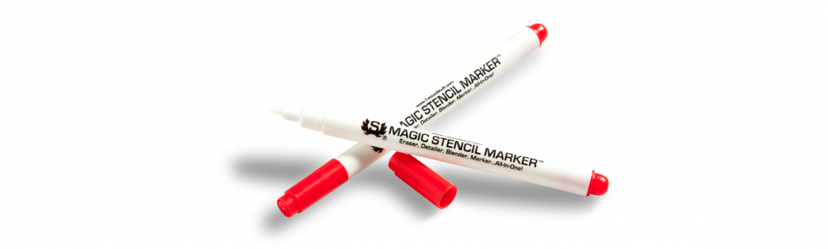 New! Magic Stencil Marker