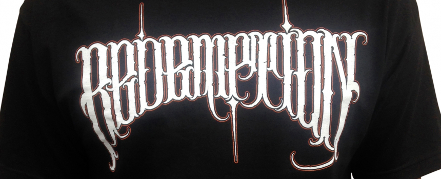 Redemption T-shirt by Big Meas NOW AVAILABLE!